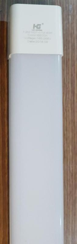 Bộ 3 đèn led Tuýp  máng đôi mica 40w-1.2 mét