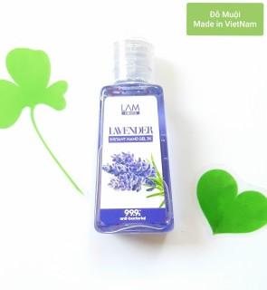 [HCM]Gel rửa tay khô 3K LamCosmé Lavender 60ml (Hương oải hương) thumbnail