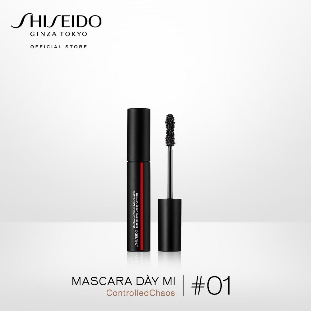 Mascara dày mi Shiseido Controlled Chaos 01 - Black Pulse