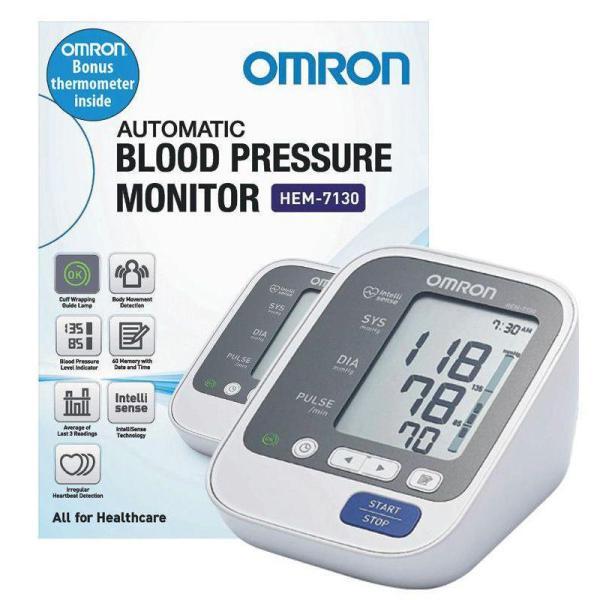 Máy đo huyếp áp bắp tay Omron HEM-7130 (Trắng) nhập khẩu