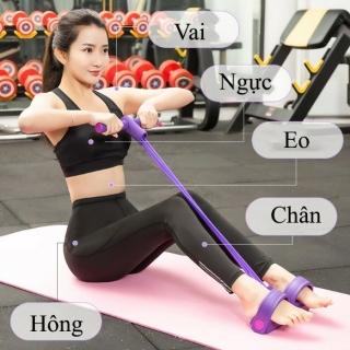 Dây co giãn tập gym Dây kéo tập thể dục lò xo đa năng Tummy Trimmernhỏ gọntiện lợi thumbnail