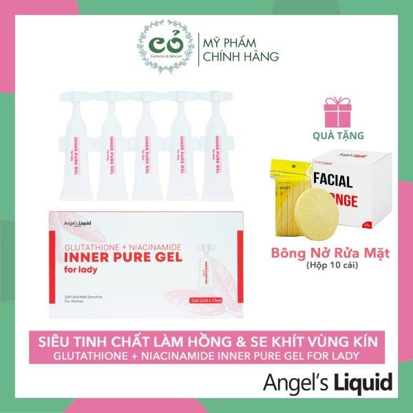 Tinh Chất Làm Hông Và Se Khít Vùng Kín Anges Liquid Glutathione + Niacinamide Inner Pure Gel giá rẻ