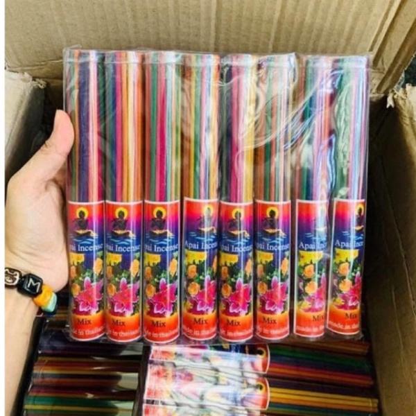 [HCM]??HOT?? Nhang thơm Apai Incense bó 50 nén Thái Lan. Xông giải uế nhà cửa nhập khẩu