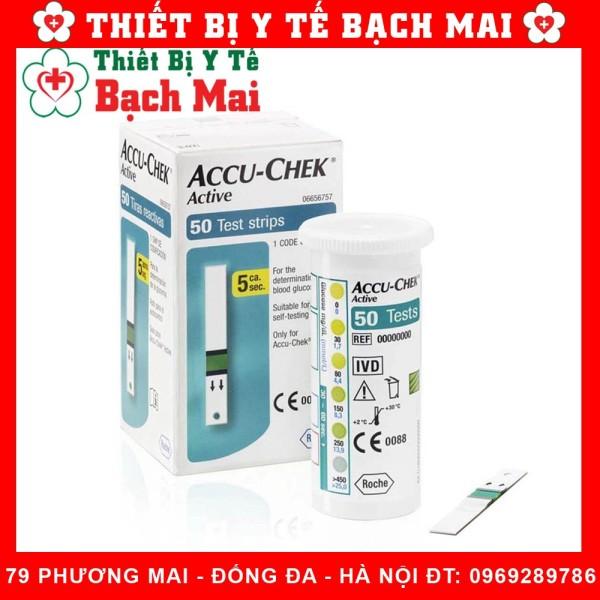 Que Thử Đường Huyết Accu Check Active [Hộp25/50 Que] - Hộp 50 que bán chạy
