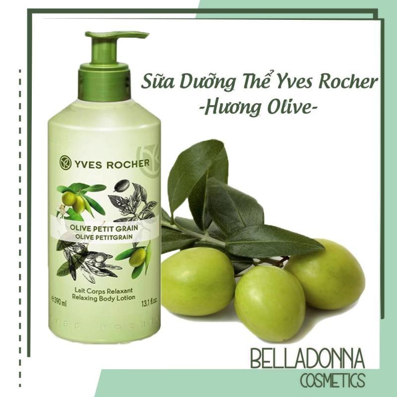 [ Giá Chiết Khấu 47% ] Sữa Dưỡng Thể Yves Rocher Olive Petit Grain Lait Corps Relaxant Body Lotion 390ml