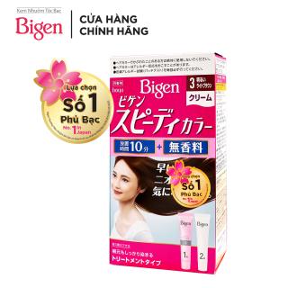 Thuốc nhuộm tóc phủ bạc dạng kem Bigen Speedy Color Cream 80ml thumbnail