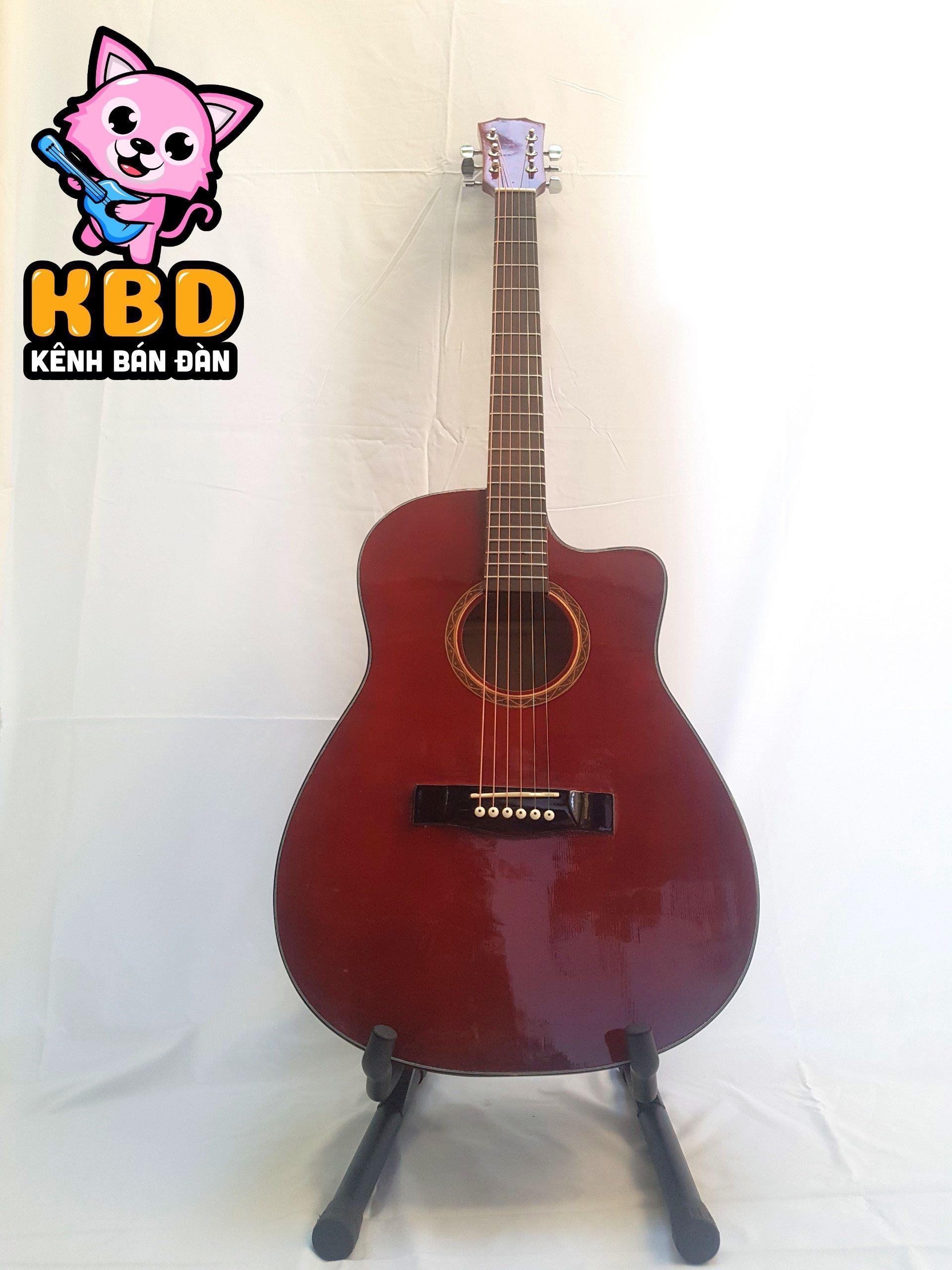 [TẶNG KÈM KHÓA HỌC] Đàn Guitar Acoustic KBD MS 2020 + pick gảy , giáo trình online hướng dẫn cho người mới tập chơi.
