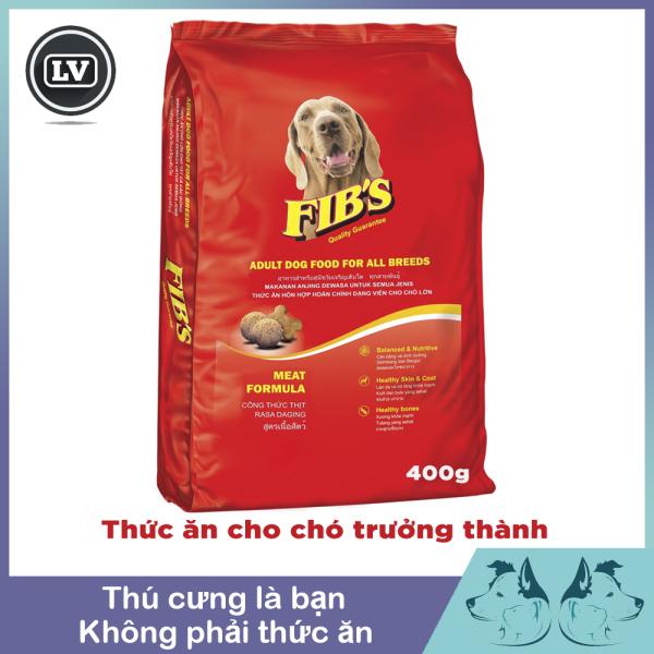 Thức ăn cho chó cao cấp Fib's  400g Phụ kiện Long Vũ