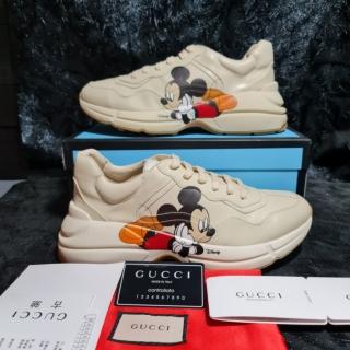 Ảnh Thật + Có sẵn Giày Gucci Rhyton Mickey Giày Gucci Mickey thumbnail