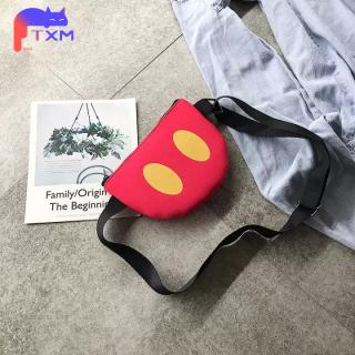 Fashion Kid Kids Bag, Small Bag Boys Girls Shoulder Bag - Canvas Smile Face Messenger Bag, Cartoon Crossbody Bag thumbnail