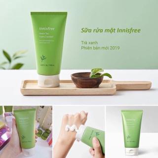 sữa rửa mặt trà xanh innisfree mẫu 2019 thumbnail