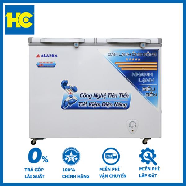 Tủ đông Alaska 350 lít BCD-3568C - Miễn phí vận chuyển & lắp đặt - Bảo hành chính hãng