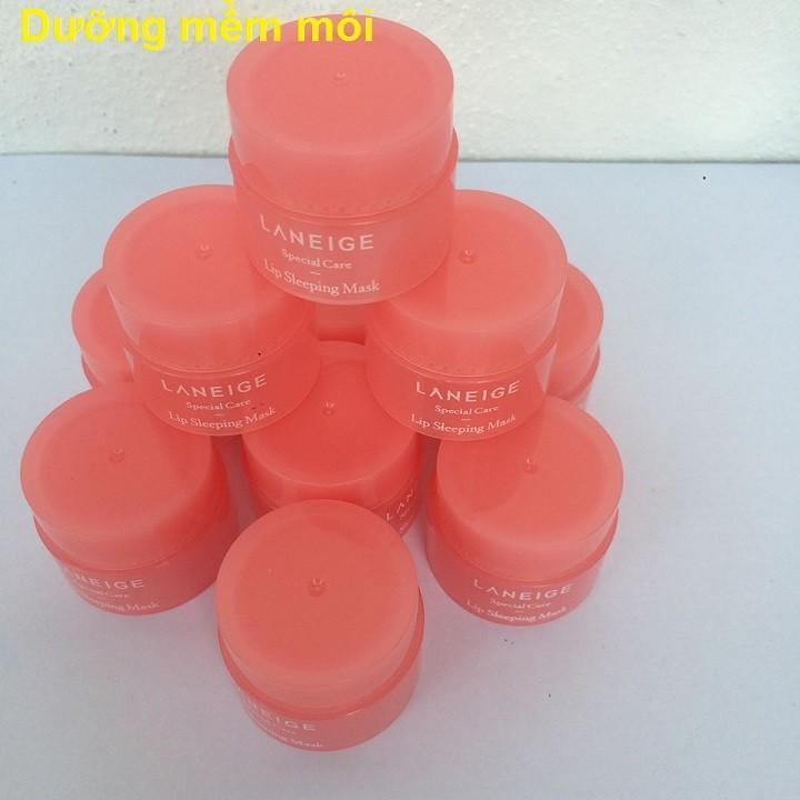 Ủ dưỡng môi Laneige Hàn Quốc_cho đôi môi căng mềm, làm hồng sắc tố môi_3g tốt nhất