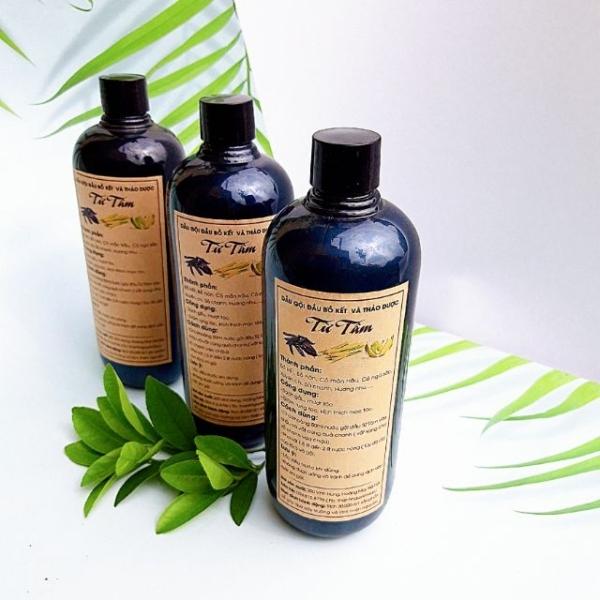 Dầu gội đầu Bồ Kết đặc biệt hiệu quả ngăn gàu, nấm ngứa, rụng tóc không hại da đầu 500ml