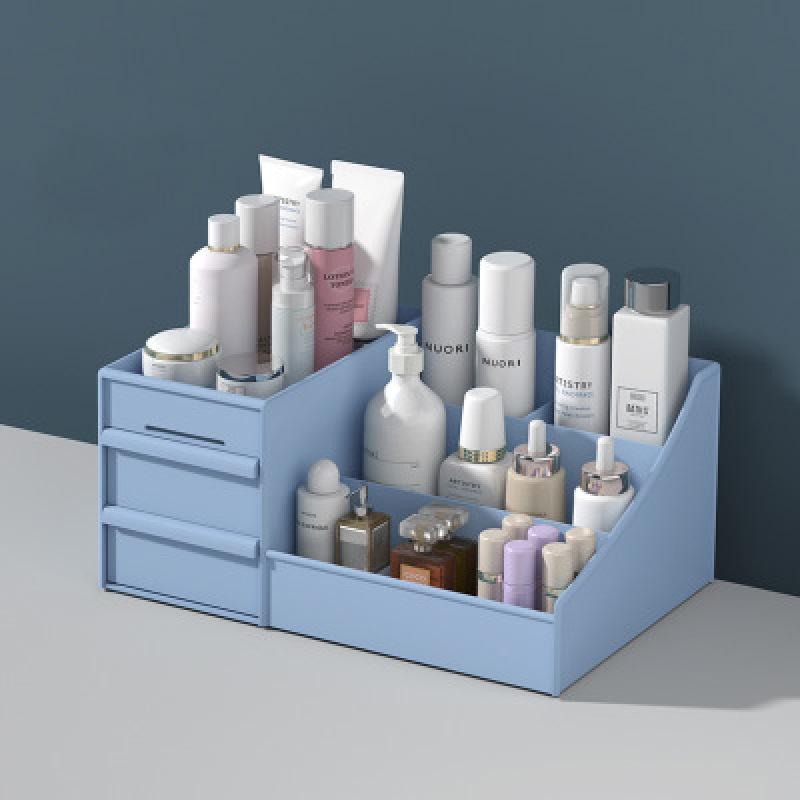 Kệ Đựng Mỹ Phẩm Mini 3 Tầng - Nhiều Khay- Hộp đựng mỹ phẩm - Tủ đựng mỹ phẩm mini có ngăn kéo tiện dụng cao cấp