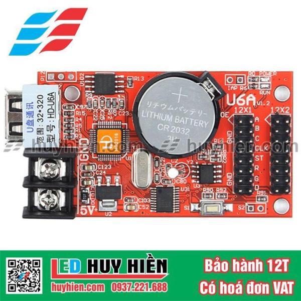 Bảng giá Card HD U6A (USB) dùng cho 2 tầng module led 1 màu
