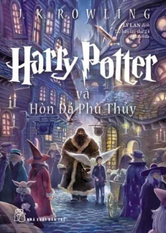 Fahasa - Harry Potter Và Hòn Đá Phù Thuỷ - Tập 1 (Tái Bản 2017)