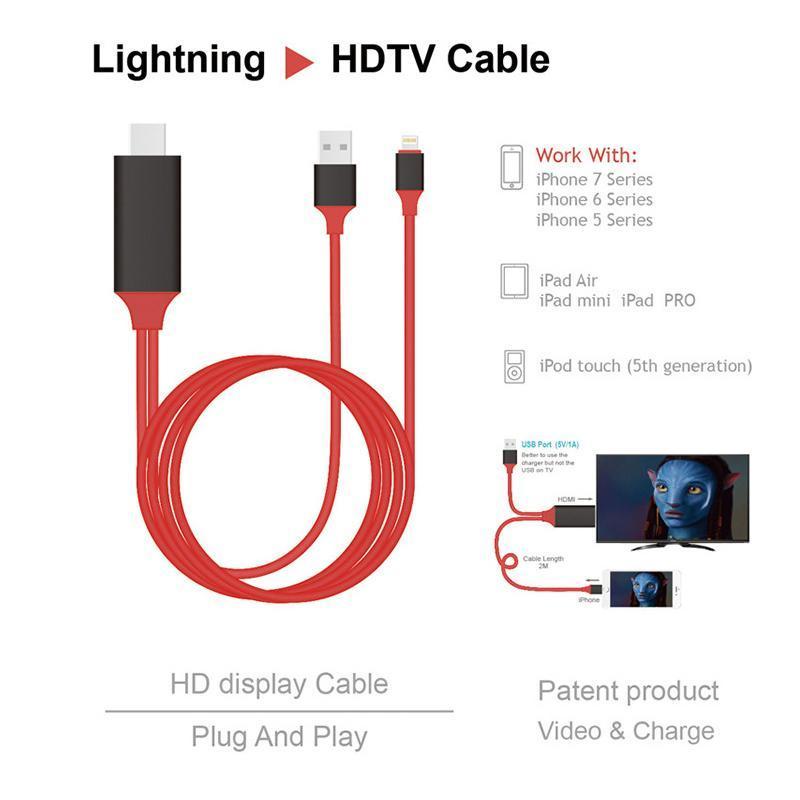 Bảng giá 3h computerDây kết nối Cao cấp giữa Tivi (cổng HDMI) với Iphone, Ipad (cổng Lightning) - Nối mạng cho Tivi nhà bạn Cáp MHL sang HDMI, HDTV kết nối điện thoại IOS với TV (iPhone 5 6 7 8 X - IOS 8-10-12) Cáp HDMI nối điện thoại với ti vi dùng ch