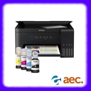 Máy in Epson L4150 màu đa chức năng (In, photo, Scan, Wifi) máy đã bao gồm 4 bình mực hãng thumbnail