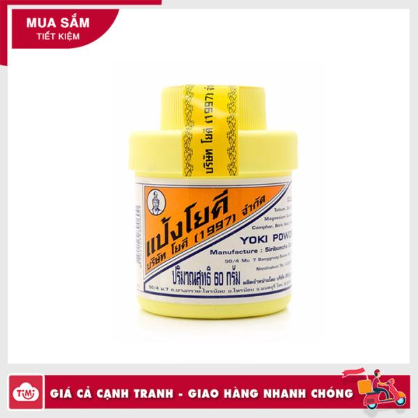 Phấn khử mùi hôi chân Yoki Powder Thái Lan 60g