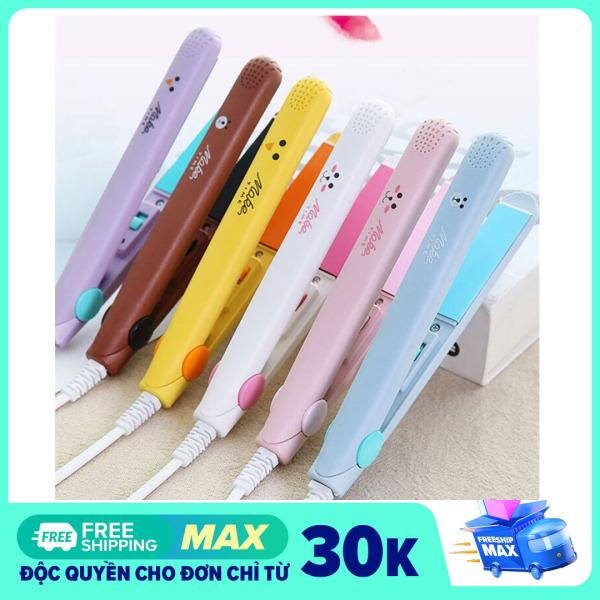 Máy duỗi tóc mini Maketime nóng nhanh ép tóc an toàn dễ tạo kiểu - máy uốn tóc