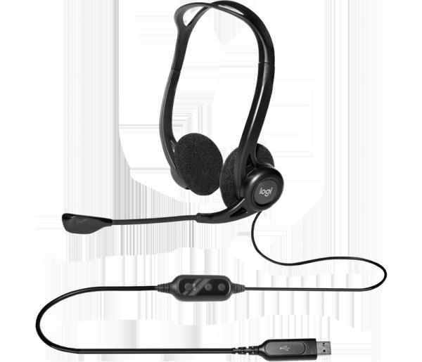 Bảng giá [HCM]Tai nghe USB chuyên âm thanh kỹ thuật số Logitech H370 Phong Vũ
