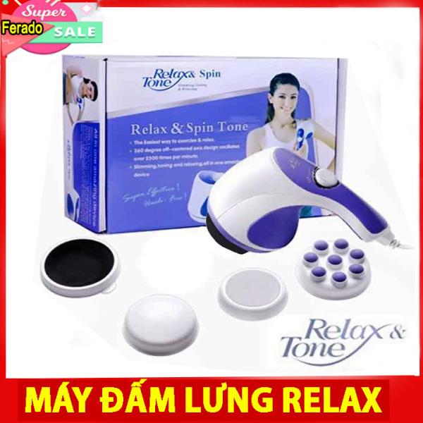 Máy Massage cầm tay đánh tan mỡ bụng, Máy matxa cầm tay RELAX giảm mỡ bụng,máy đấm lưng