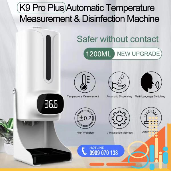 Nơi bán Máy đo nhiệt độ và Khử Khuẩn K9 Pro