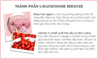 Viên uống trắng da chống lão hóa Sakura L-Glutathione Reduced 3