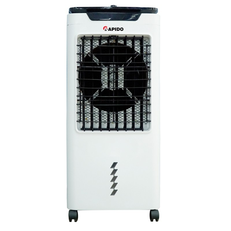 Quạt điều hòa không khí Rapido Lucky 6000-M - Công suất 80W - Tạo ion âm làm sạch không khí