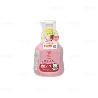 Sữa Tắm Tạo Bọt Arau Baby Bình Hồng 450ml thumbnail