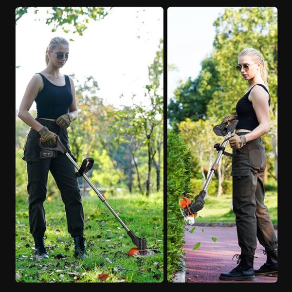 MÁY CẮT CỎ TỈA CÀNH CẦM TAY - LAPUSEN - Máy cắt cỏ cầm tay - Loại xịn - nhập khẩu 100%