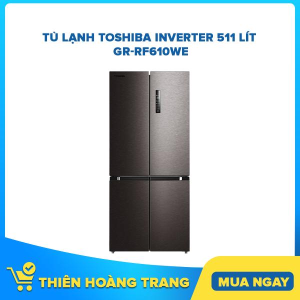 Tủ lạnh Toshiba Inverter 511 lít GR-RF610WE