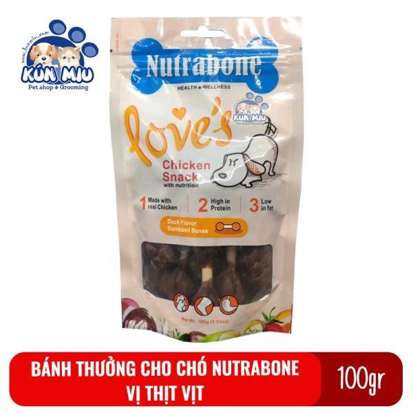 Bánh Thưởng Cho Chó Nutrabone 100Gr Vị Thịt Vịt - Duck Flavor
