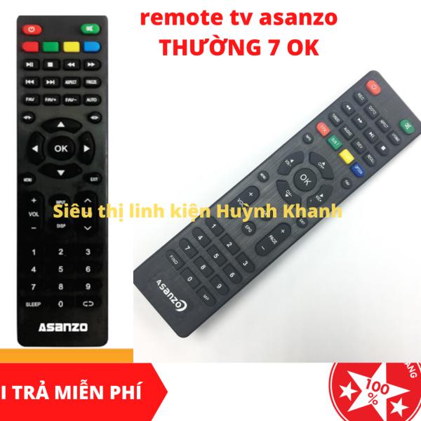 Bảng giá REMOTE TV ASANZO THƯỜNG 7 OK BỀN ĐẸP CHÍNH HÃNG