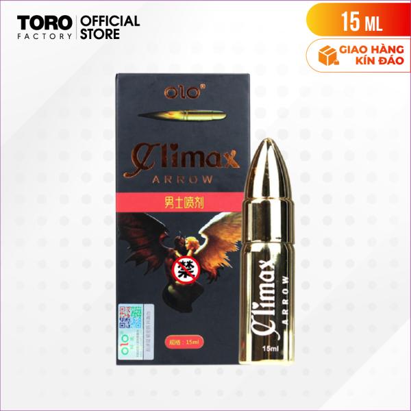 [Chai 15ml] Gel bôi trơn kéo dài thời gian quan hệ - OLOClimax Arrow   TORO FACTORY giá rẻ