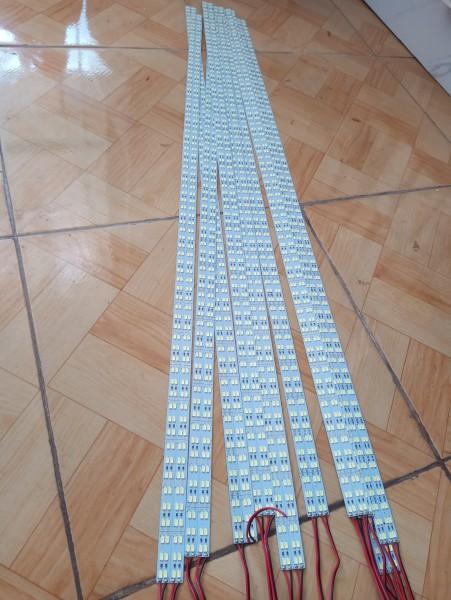 Bảng giá Đèn led thanh 5730 dài 1m, 2 hàng bóng 12v,144 bóng led siêu sáng