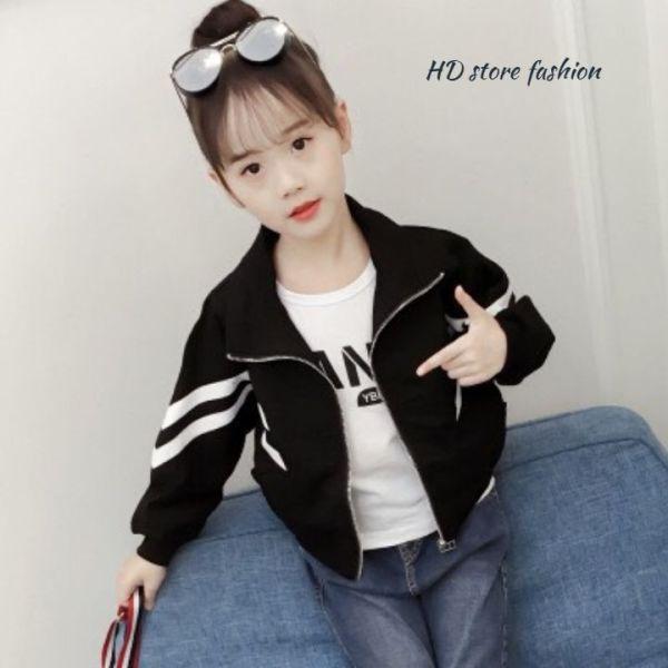 Giá bán áo khoác bé gái tay phối từ 5 đến 14 tuổi 0045