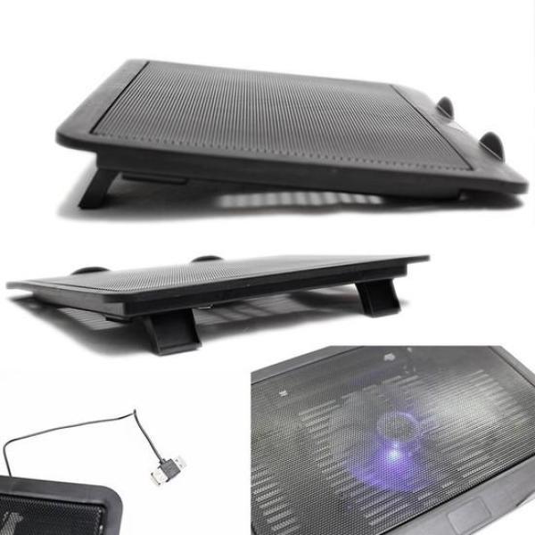 Bảng giá Đế tản nhiệt Laptop cao cấp Cooling Pad N191, 1 quạt lớn Phong Vũ