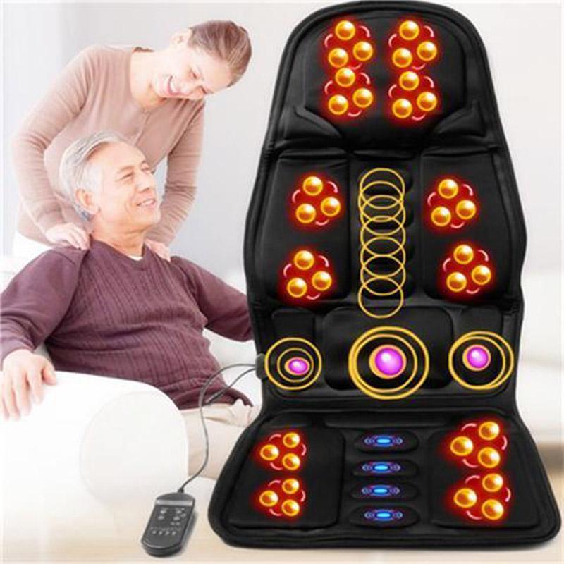 Đệm Massage Toàn Thân,Nệm Massage Toàn Thân,Đệm Matxa Trên Oto,Mua Ngay Ghế Massage  Với 8 Chế độ Massage Giúp Bạn Thoải Mái Thư Giãn,xua Tan Mệt Mỏi,Bảo Hành Uy Tín 1 Đổi 1,Msp 87 Giá Tốt Duy Nhất tại Lazada