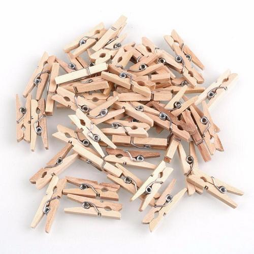 Mua Bộ kẹp gỗ trơn