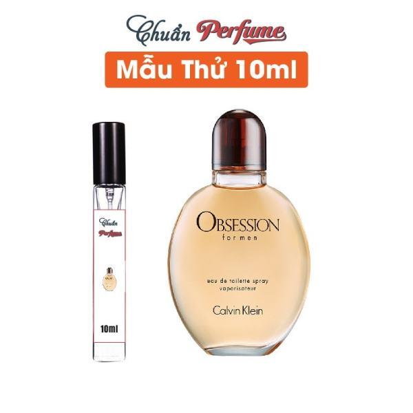 [Mẫu Thử 10ml] Nước Hoa Nam Calvin Klein Obsession For Men EDT Chiết 10ml » Authentic Perfume