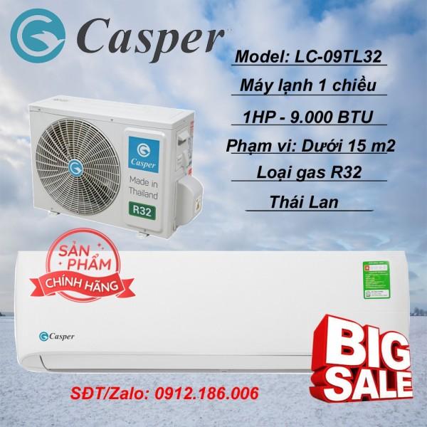 Máy lạnh Casper 1 HP - 9.000BTU LC-09TL32 - Hàng chính hãng (LIÊN HỆ VỚI NGƯỜI BÁN ĐỂ ĐẶT HÀNG)