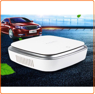 [Tặng kèm 2 hộp sáp thơm] - Máy lọc không khí ô tô , khử mùi, lọc không khí, trong xe hơi chống say xe thumbnail