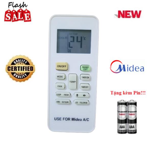 Sản phẩm Remote Điều khiển điều hòa Midea 1& 2 chiều Inverter MSAFA MSAF MSAB MSFR- Hàng mới tốt 100% là hàng mới nguyên tem, chất lượng cao được cửa hàng chúng tôi cam kết: - Cam kết sản phẩm mới nguyên tem đúng như hình ảnh miêu tả (Hình