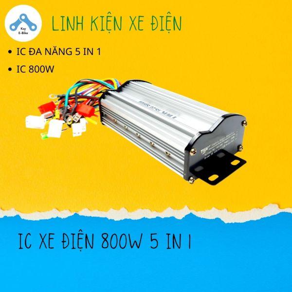 Mua IC khiển xe điện 800W, điều tốc xe điện đa năng 5in1 THK S20 Plus, 48V đến 60V dùng cho xe máy điện Xmen, Vespa 4 hoặc 5 bình