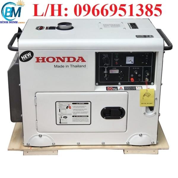 Máy Phát Điện Honda Chạy Dầu 5Kw HD8500EC NEW 2021