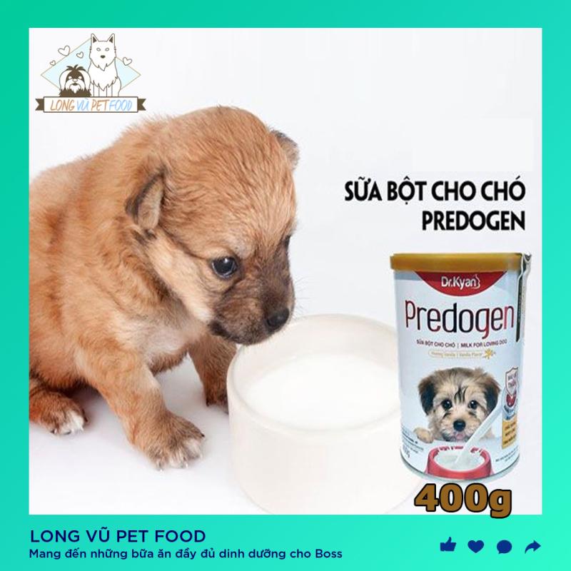 Sữa Bột Dinh Dưỡng Cho Chó Predogen Dr.Kyan Hộp 400g, sữa cho chó con