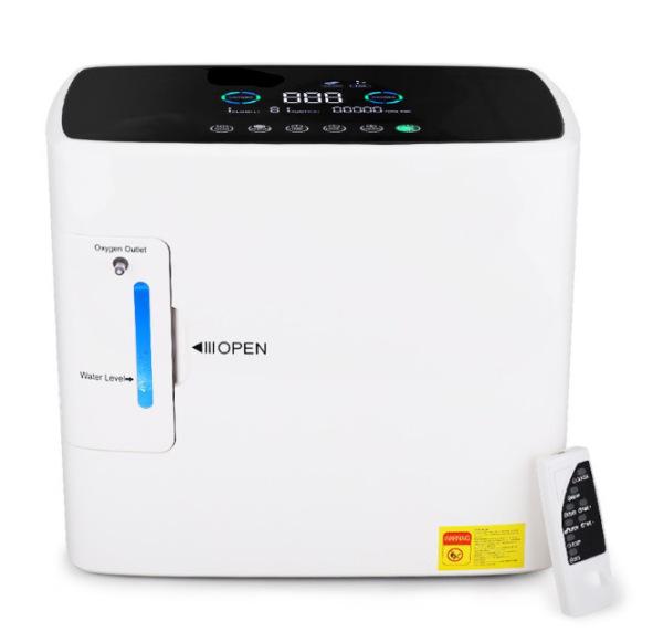 Thương mại điện tử xuất khẩu xuyên biên giới Nhà sản xuất máy tạo oxy Indonesia được FDA CE chứng nhận Máy tạo oxy y tế 5L nhập khẩu
