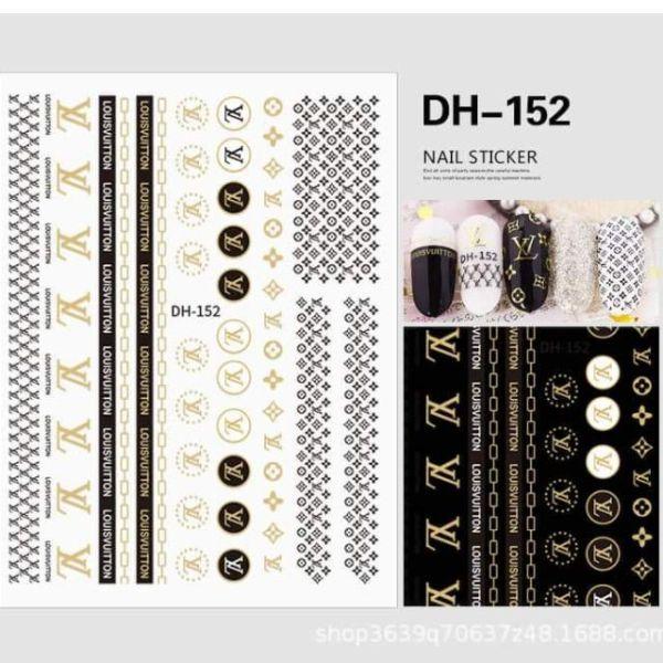 Hình Dán 3D Thương Hiệu Lv, Chanel.... cao cấp
